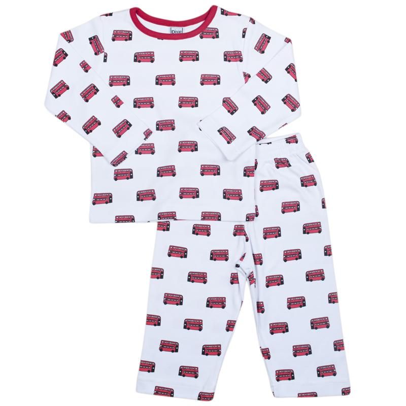 Childrens Crew neck london bus pyjamas  cb3895288