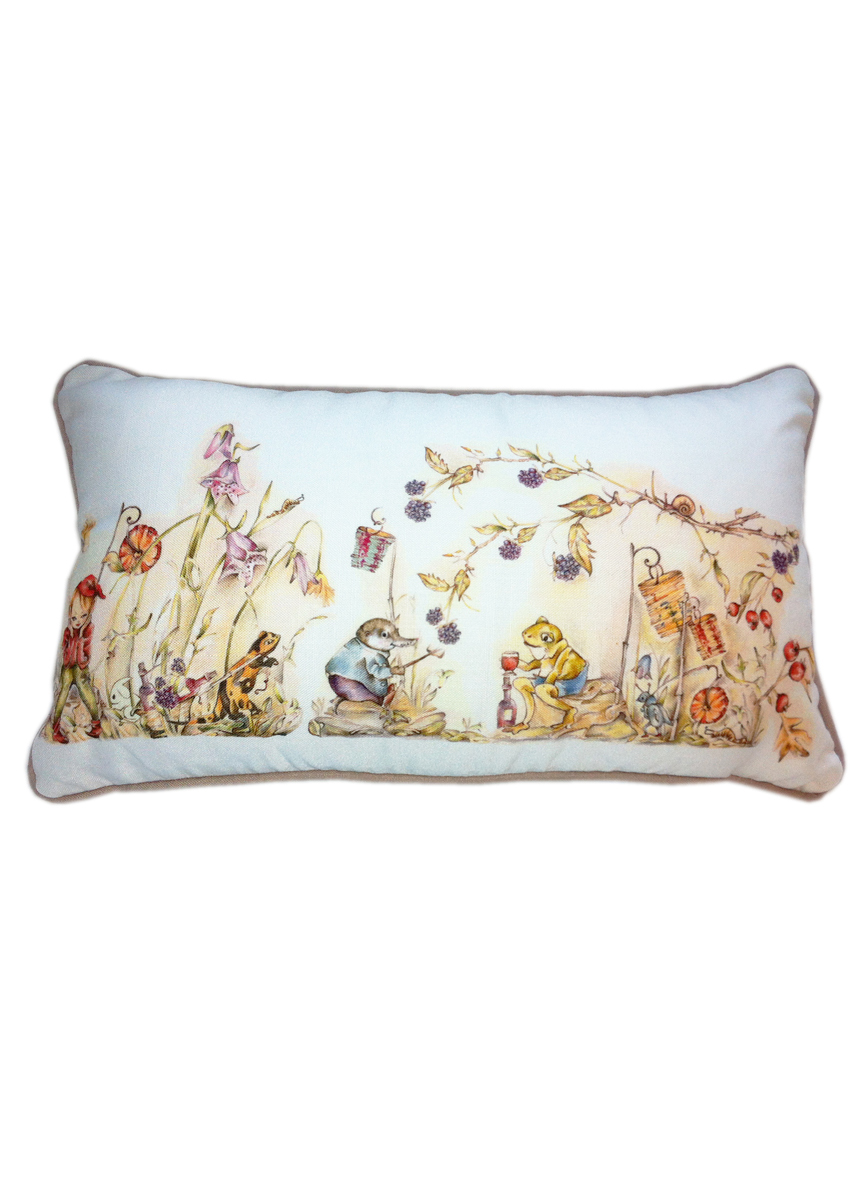 Childrens Elf Cushion White Rabbit England Childrens