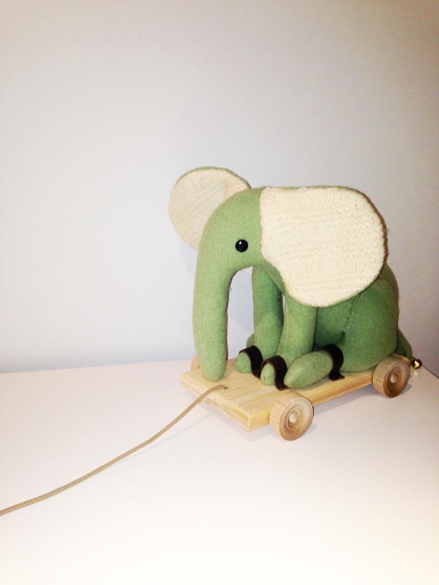 childrens elliot elephant toy white rabbit england childrens