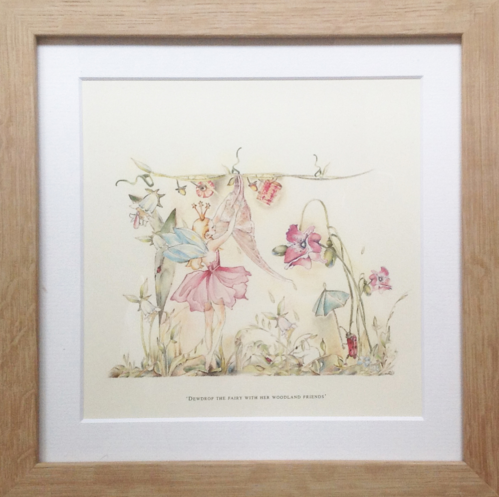 Childrens Small Fairy Print White Rabbit England Childrens 39 Interiors Lighting And Gifts