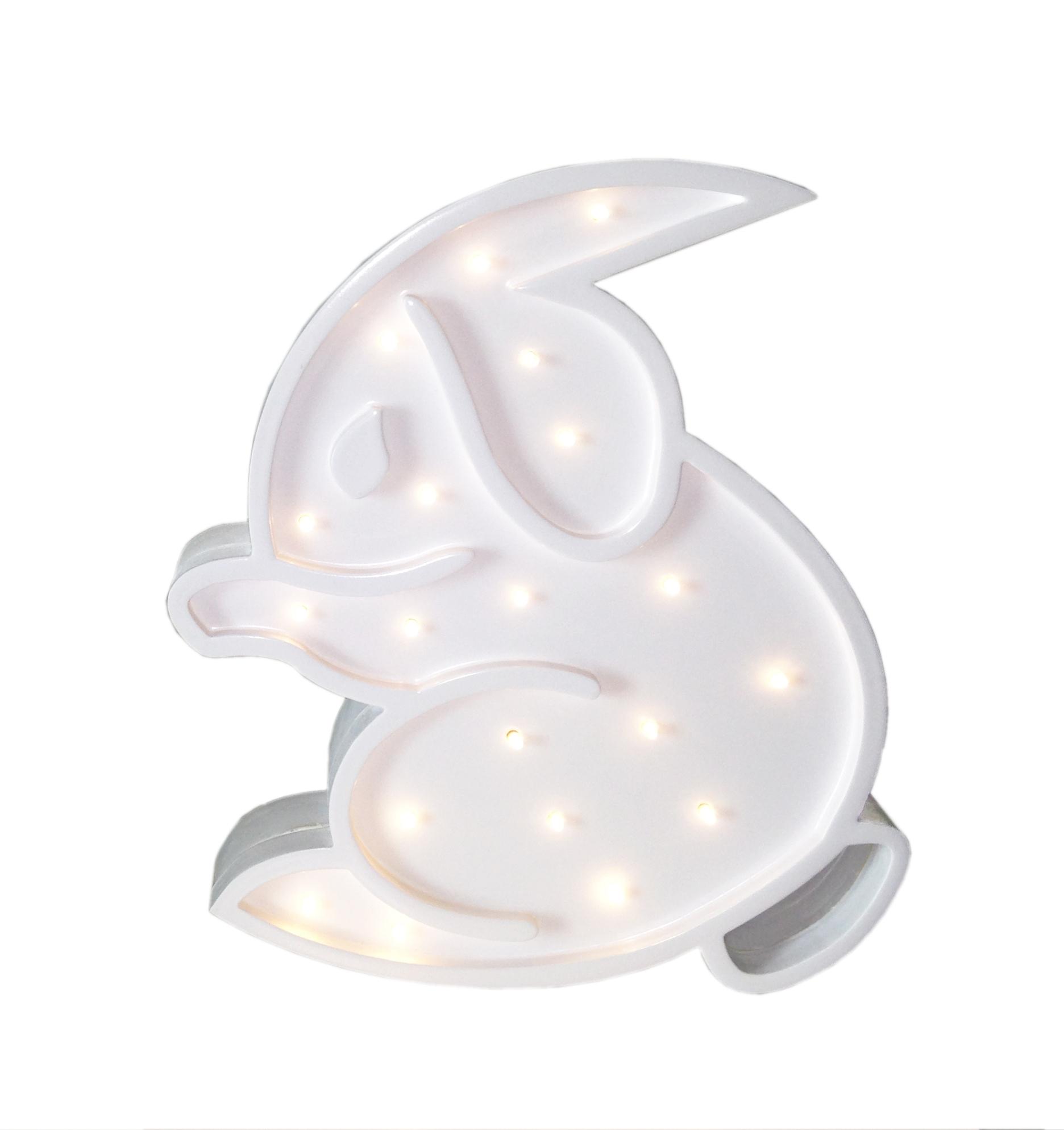 Childrens Rabbit Light Sparkles
