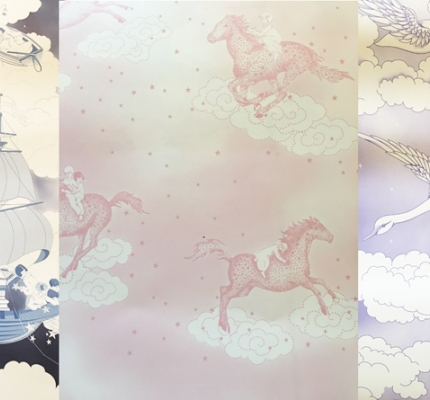 If You Are Looking For A Stunning Childs Feature Wall Look No Further Than This Collection Of Hand Drawn Magical Wallpaper Designs